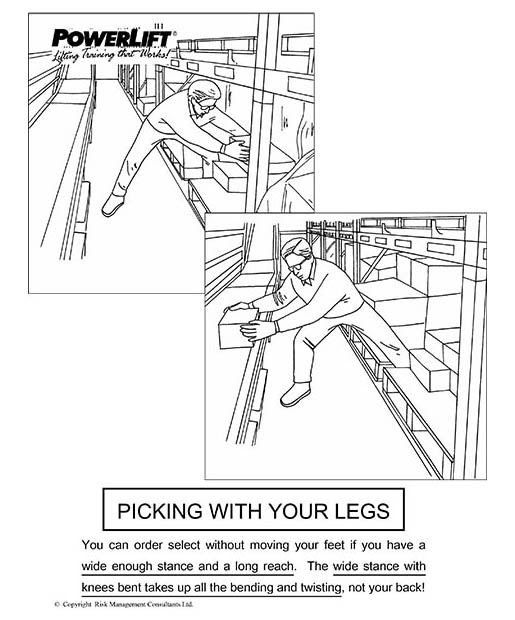 Picking With Your Legs