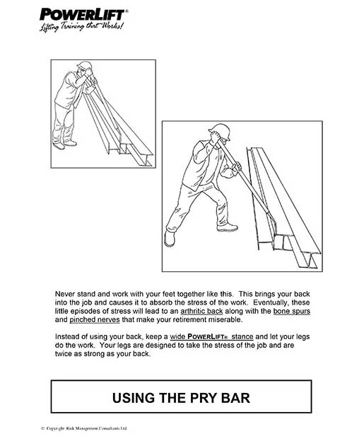 Using The Pry Bar