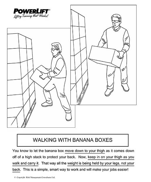 Walking with Banana Boxes