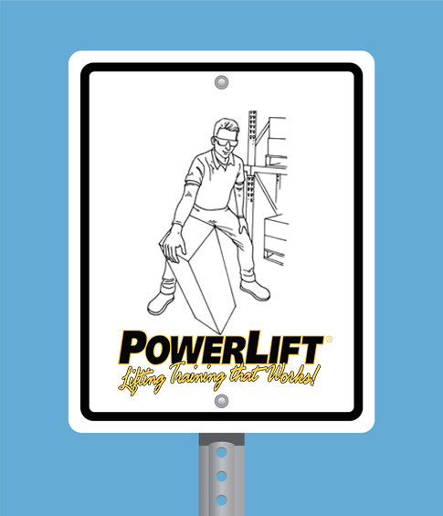 PowerLift Safety Sign